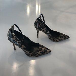 White house black market leopard heels